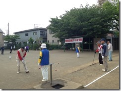 ゲートボール大会2014