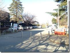 稲田公園駐車場
