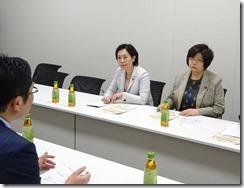 小松さんと法務省交渉