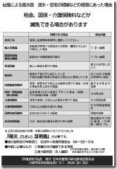 2019台風被害(19号) 川北のひろば